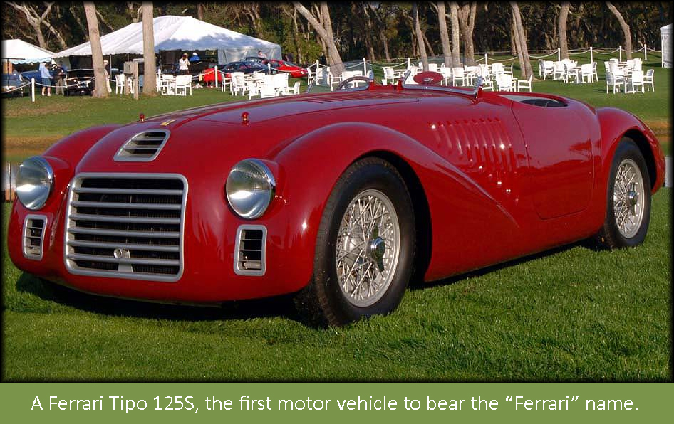 A Step Back In Time: Ferrari Unveils Its First Car | tobyhusseyreports
