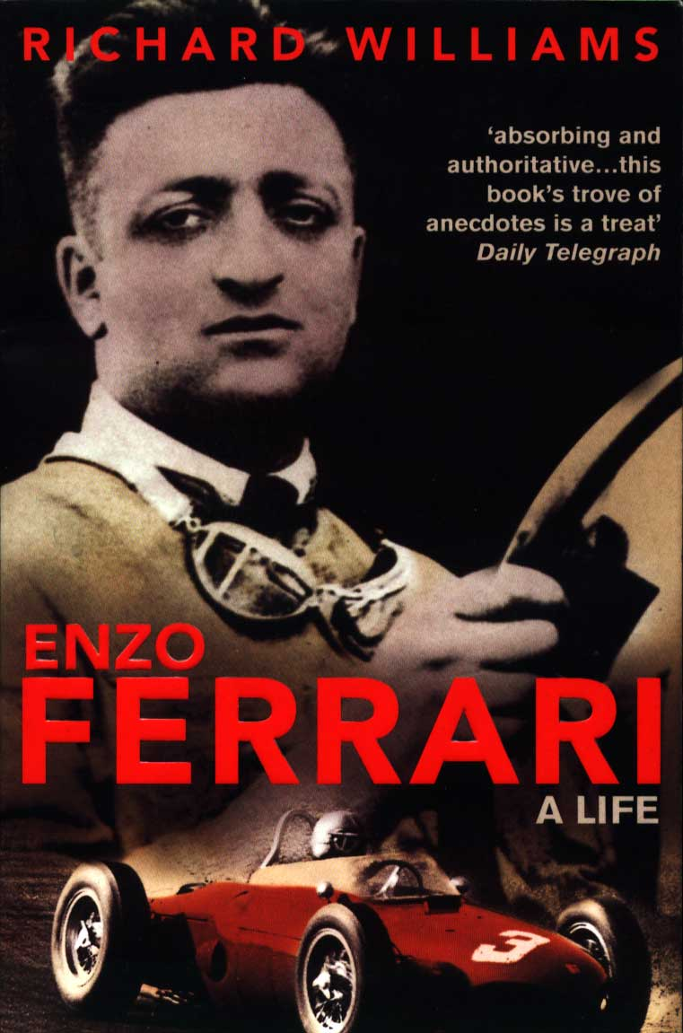 Enzo Ferrari Biography Book