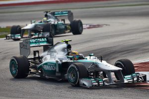Mercedes displayed how a team should handle opposition to team orders. ©2013 MERCEDES AMG PETRONAS Formula One Team