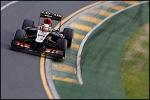 Grosjean went virtually un-noticed throughout the race.