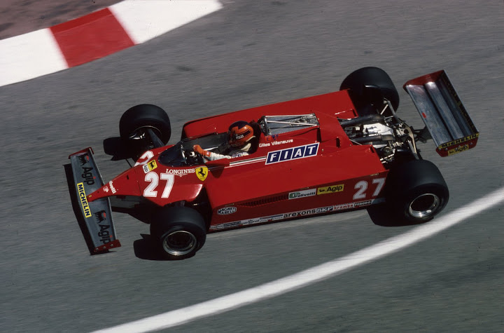 Gilles Villeneuve on his way to a well-received victory at the 1981 Monaco Grand Prix. Villeneuve, driving a car far from the fastest, benefited greatly from Nelson Piquet's incident with a lap car (while leading) and Alan Jones suffering from fuel vaporization late in the race (also while leading). ©HOCH ZWEI / Ronco