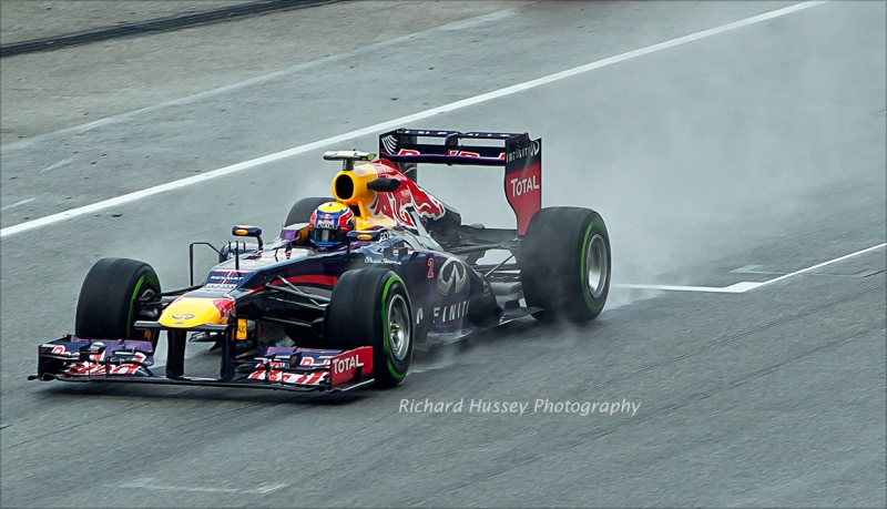 And Mark Webber copies Button's decision.