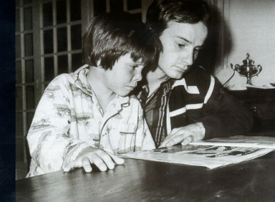 Jacques and Gilles. Date unknown. Copyright unknown.