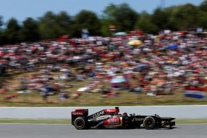 ©Andrew Ferraro/Lotus F1 Team