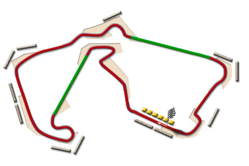 DRS will be available to drivers between turns five and six as well as between turns 16 and 17 © auto-motor-und-sport.de