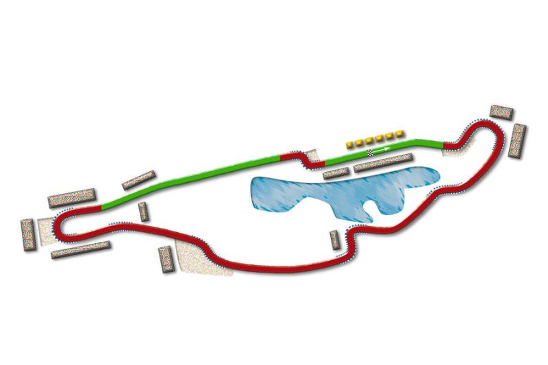 Drivers will be able to use DRS between turns 10 and 12, as well as between turns 13 and one. © auto-motor-und-sport.de