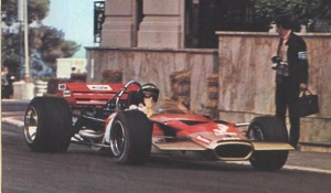 But Rindt, having qualified a lowly eighth, had his eyes on victory on Sunday. © Rob Ryder