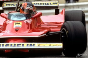 Villeneuve, a hero to many, has been encapsulated brilliantly by Donaldson. Photo © motorsportretro.com