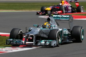 Despite a tyre blowout, Hamilton fought back to score 12 important points. © 2012. Mercedes-Benz Grand Prix Limited.