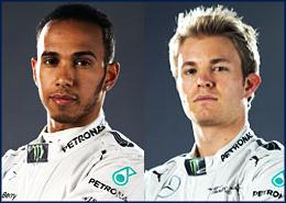 Lewis Hamilton 44, Nico Rosberg 6